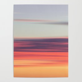 Abstract Sunrise Poster
