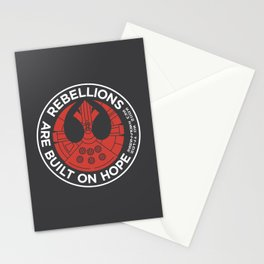 Rebellions are Built on Hope Stationery Cards