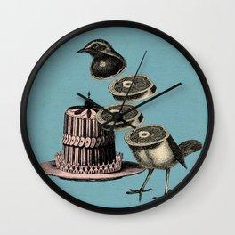 Deconstructed bird Wall Clock