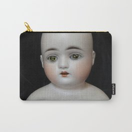 Typewriter Key Creepy Mentalembellisher Doll Carry-All Pouch