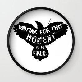 Black Bird Wall Clock