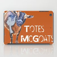 """totes iPad Cases featuring """"Totes McGoats!"""" ~ Nigerian Dwarf Goat Pop Art Photography!  Gotta Love the Goaty-Woaties! by Canis Picta"""