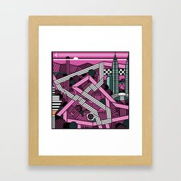 KL city grand prix Framed Art Print