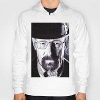 heisenberg Hoodies featuring Heisenberg  by DeMoose_Art