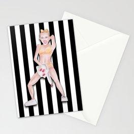 Twerkin' Miley Cyrus Stationery Cards