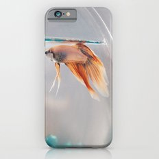 Fish in a fishbowl iPhone 6s Slim Case