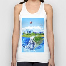 Echo World Unisex Tank Top