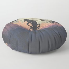 Ride The Trails Floor Pillow