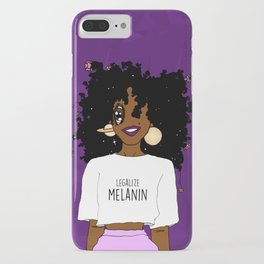 LEGALIZE MELANIN (D) iPhone Case