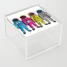 CMYK Spacemen Acrylic Box