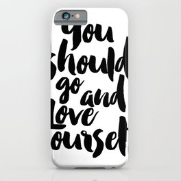 Love yourself,Purpose album,Justin,Bieber,Song Lyrics,Gift for her,Gift for Valentines,Gift for girl iPhone Case