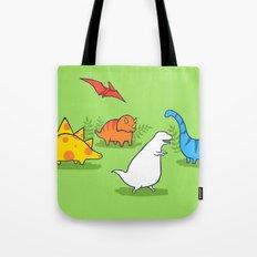 Albinosaur Tote Bag