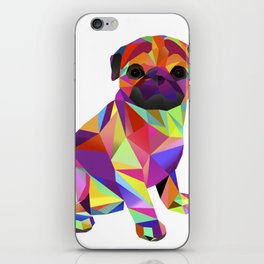 Pug Dog Molly Mops iPhone Skin