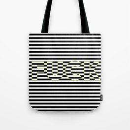 FUCK THE LINES. Tote Bag