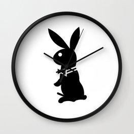 playboy horny rabbit  Wall Clock