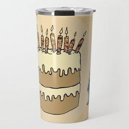 RABBIT CAKE Travel Mug
