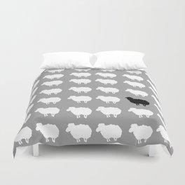 Black sheep Duvet Cover
