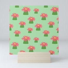 Tropical anemones Mini Art Print