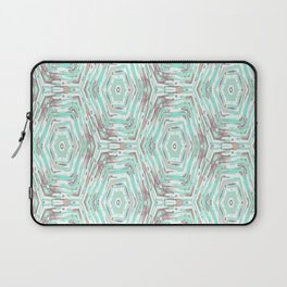 Light turquoise ethnic. Laptop Sleeve