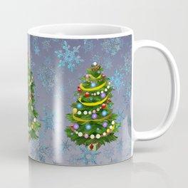Christmas tree & snow v.2 Coffee Mug