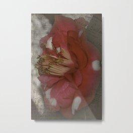 Flowery Memory Metal Print