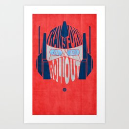 Roll Out Art Print