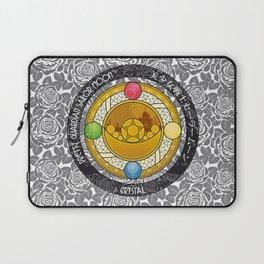 Sailor Moon - Crystal Transformation Brooch Laptop Sleeve