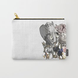 I <3Animals Carry-All Pouch
