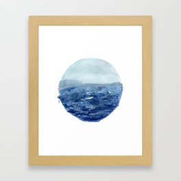Around the Ocean Framed Art Print