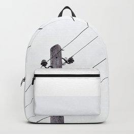 Old Utility pole Backpack