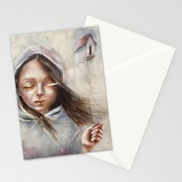 You were home Stationery Cards