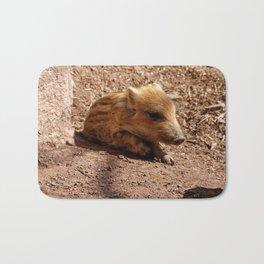 Adorable Baby Boar Bath Mat