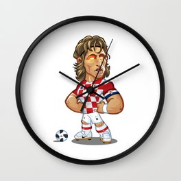 Luka Modric Wall Clock