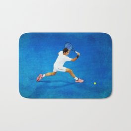 Roger Federer Sliced Backhand Bath Mat