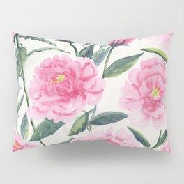 Pink Peonies Pillow Sham