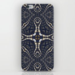 Liquid Denim Blue iPhone Skin