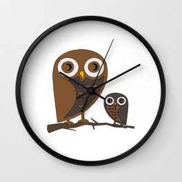 Two Hooters Wall Clock