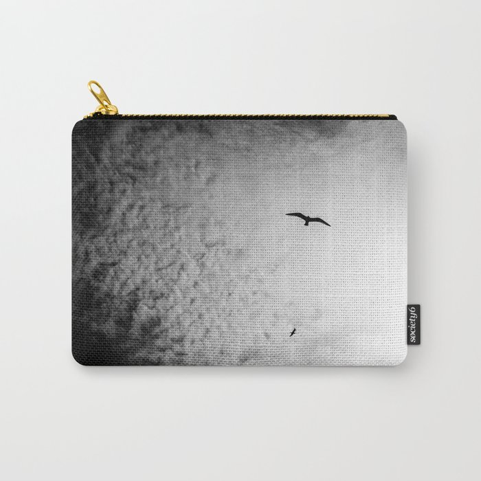 Black bird sky Carry-All Pouch