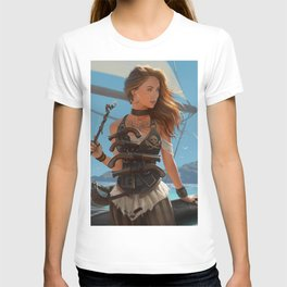 Franceska Drake the black powder pirate T-shirt