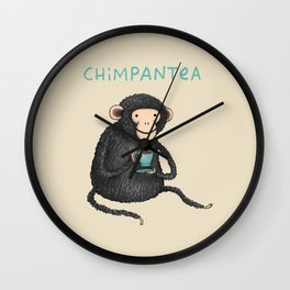 Chimpantea Wall Clock