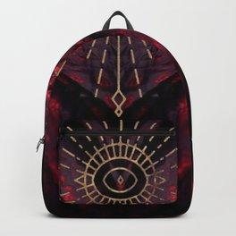 Scarlet Heart Mineral Eye Backpack