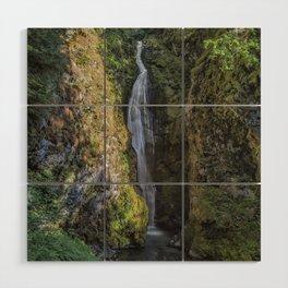 Pinard Falls Squared Wood Wall Art
