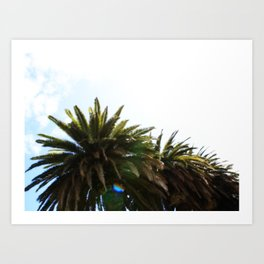 Dreamin' of Malibu. Art Print