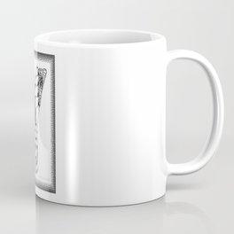 Zentangle Y Monogram Alphabet Initial Coffee Mug