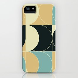 Abstract Geometric Artwork 35 iPhone Case
