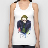 the joker Tank Tops featuring Joker by Lyre Aloise