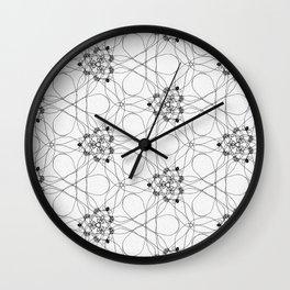 knotting threads pattern Wall Clock