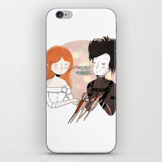 Hold Me iPhone & iPod Skin
