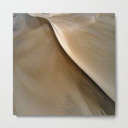 South West Sand Dunes Metal Print