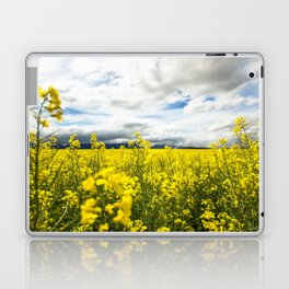 Fields of yellow - Floral Photography #Society6 Laptop & iPad Skin